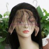 Parrucche piene diritte dei capelli umani del merletto del Virgin delle parrucche dei capelli umani della parte anteriore del merletto di densità di 130% della parrucca brasiliana dei capelli per le donne di colore