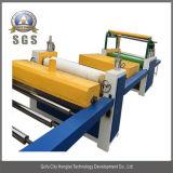 Máquina de papel de madera de la cubierta de la máquina de la chapa del PVC