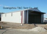 O melhor fornecedor de China da barraca provisória do armazém com paredes de aço ou paredes do PVC ou parede do ABS