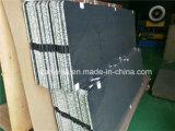 Panneaux en aluminium de nid d'abeilles de poids léger noir de couleur