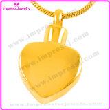 Nam het Gouden Plateren van de Juwelen van de herinnering/de Gouden Tegenhangers van het Hart voor iemand Gehouden van Ijd9524 toe