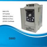 De eenvoudige Aandrijving van de Fase 220V 1.5kw AC van het Type 2HP VSD 3