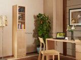 문 (AD-FY-N706C-SJ)를 가진 현대 나무로 되는 박달나무 베니어 공간 래커 책장