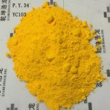 Средний желтый цвет 34 пигмента желтого крома