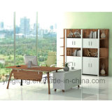 현대 행정상 나무로 되는 사무실 책상 (YF-T2021)