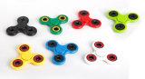 Blanco / Negro Tri Spinner Fidget Juguetes de plástico EDC Spinner de mano para el autismo y Adhd 15 estilos de estrés ansiedad