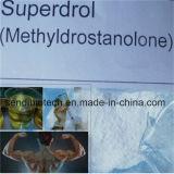 Polvo esteroide de Anaboil Methasteron Superdrol del grado farmacéutico para el edificio del músculo