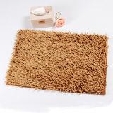 長い山の毛羽織りのシュニールの浴室部屋のマット