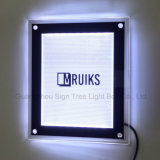 El Ce RoHS A4 del precio directo de la fábrica adelgaza el cristal Lightbox del LED