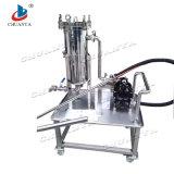 Edelstahl-Filter-industrielles Beutelfilter-Gehäuse mit Pumpe