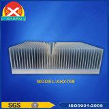 L'alluminio si è sporto dissipatori di calore dell'aletta per il trasformatore