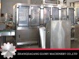 máquina expendedora de relleno y que capsula del fregado de las botellas 5gallon del agua