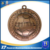 3D Antique Bronze Medallion (Ele-medaglia-013)