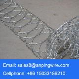 軍のアコーディオン式かみそりの有刺鉄線の工場価格