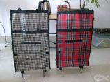 Einkaufen-Laufkatze-Beutel mit Rad-beweglicher faltbarer Einkaufstasche-Karre