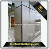 Pannelli di rivestimento di alluminio rivestiti della parete del metallo della polvere per la facciata