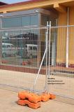 cerco provisório de cerco provisório do local da construção do fio 2.1X2.4m de 3mm/4mm