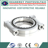 ISO9001 / Ce / SGS Dual Worm Slew Drive para maquinaria de construcción