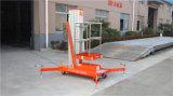 Plataforma hidráulica de alumínio portátil do elevador do trabalho aéreo do mastro (GTWY6-100SA)