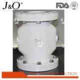 Válvula de compressão de liga de alumínio Flange Pnumatic