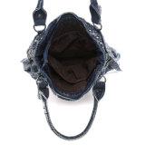 Il Cowgirl alla moda rivetta il sacchetto delle signore del denim dei cristalli (MBNO042136)