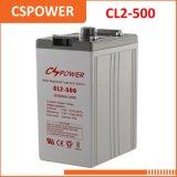 Batería del AGM del almacenaje de la potencia de la fábrica 2V500ah de China - sistema de energía solar