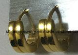 금에 의하여 도금되는 보석 스테인리스 귀걸이 (ER2627)