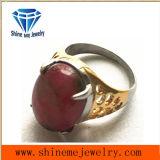 Anillo de piedra púrpura de la joyería de la manera de la joyería de Shineme