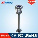 Automático desligar o dispositivo elétrico claro do jardim claro do diodo emissor de luz da potência solar
