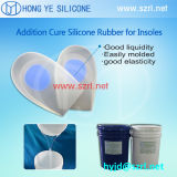 De Zorg die van de Voet van de Binnenzool van het silicone het Vloeibare Rubber van het Silicone, het Gel van het Silicone maken