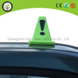 LED esterno che fa pubblicità alla casella chiara superiore del segno LED del tassì