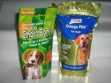 Máquina de embalaje automática de alimentos para animales de compañía con pesadora