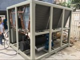 refrigerador 180kw de refrigeração ar com o compressor do parafuso de Bitzer