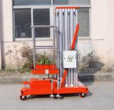 hydraulische Luftarbeit-Aufzug-Aluminiumplattform des Mast-9meters (GTWY9-100)