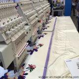 4 máquina automatizada Cap&Textile industrial del bordado de las pistas 3D&Flat&