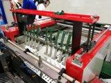 Automáticamente cuatro líneas que sellan el bolso que hace la máquina