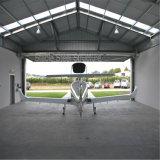 Pre-Проектированный портальный ангар стальной структуры света рамки с большой пядью