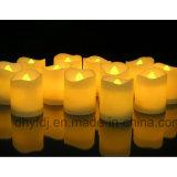 Kerze-Tee-Licht der Hochzeits-Dekoration-buntes LED