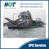 Hot Selling Chain Bucket River Sand Dredger/Bucket Gold Dredge