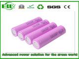 Batterie profonde de cycle de Samsung Icr18650-26j 2600mAh pour le compresseur d'air