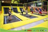 Trampoline детей звукомерной гимнастики с циновкой высокого прыжка кубика пены для малышей