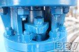 Válvula de borboleta excêntrica tripla industrial de Dbv
