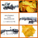 Chaîne de fabrication de pommes chips d'hexagone dans le meilleur prix en vente chaude