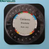 Denrumの製造FDA/Ce/Isocertificatedの陶磁器の歯科矯正学ブラケット
