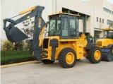 판매를 위한 정면 로더 그리고 뒤 굴착기 소형 굴착기 로더를 가진 2016 새로운 Wz30-25