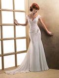Платье венчания мантии шифоновой втулки крышки Bridal