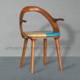 خاصّ تصميم غور رماد كرسي تثبيت خشبيّة مع [بو] نجادة ([سب-ك632])