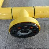 Barra di gru a benna antisdrucciolevole dell'angolo dell'acquazzone della stanza da bagno del corrimano per gli handicappati