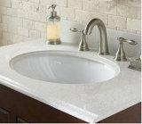 Heißes verkaufendes glatte einfache Reinigungs-keramisches Bassin der Glasur-2016 für Badezimmer