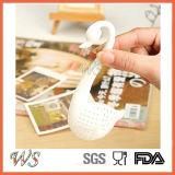 Фильтра чая лебедя комплекта инструмента чая свободных листьев Infuser чая Ws-If049 силикон шикарного установленный